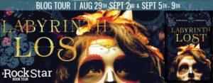LABYRINTH LOST BLOG TOUR featuring ZORAIDA CORDOVA!