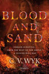 Blood and Sand by CV Wyk- Blog Tour Review