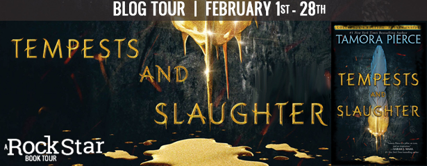 Tempests and Slaughter by Tamora Pierce- Blog Tour